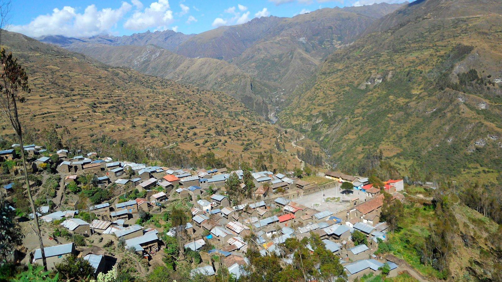 Choquecancha village
