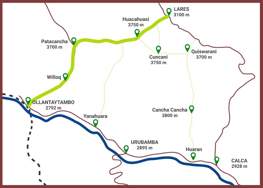 Routes of Lares Trek